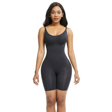 Load image into Gallery viewer, Seamless Full Body Shaper in Black