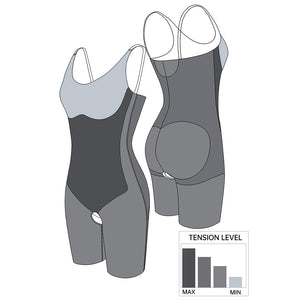 Seamless Full Body Shaper in Black