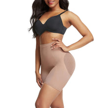 Load image into Gallery viewer, Boyshorts Shapewear Briefs in Beige