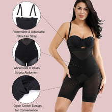 Load image into Gallery viewer, Slim Coquette Body Shaper Shorts in black and beige