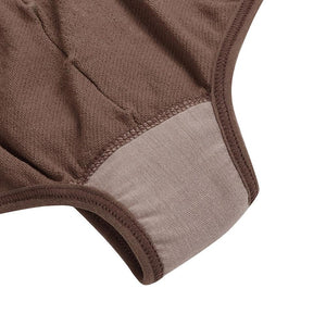 Tummy Control Panties in Brown