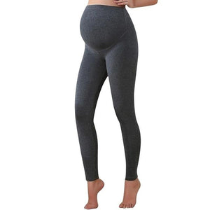 Deep grey warm pregnancy leggings from slim coquette shapewear online store