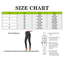 Load image into Gallery viewer, warm pregnancy leggings from slim coquette shapewear online store size chart