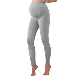 Light grey warm pregnancy leggings from slim coquette shapewear online store