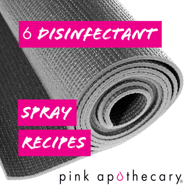 Six Disinfectant Spray Recipes