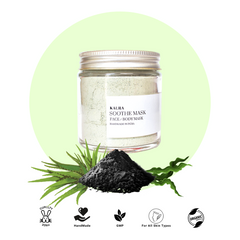 Soothe mask by Kaura made of spirulina