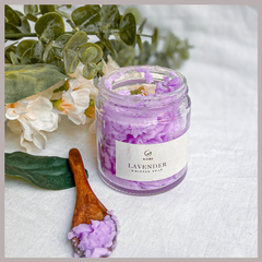 Lavender Whipped Soap by Kaura India
