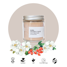 Load image into Gallery viewer, Vitamin C Face Mask: Chamomile Powder + Rosehip Powder