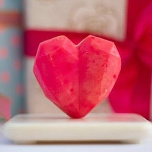 Two heart soap