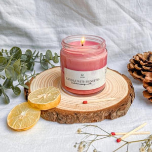 Candle With Benefits 2 in 1 ( Massage + Scented )
