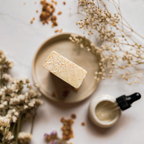 Oats and Kaolin Soap