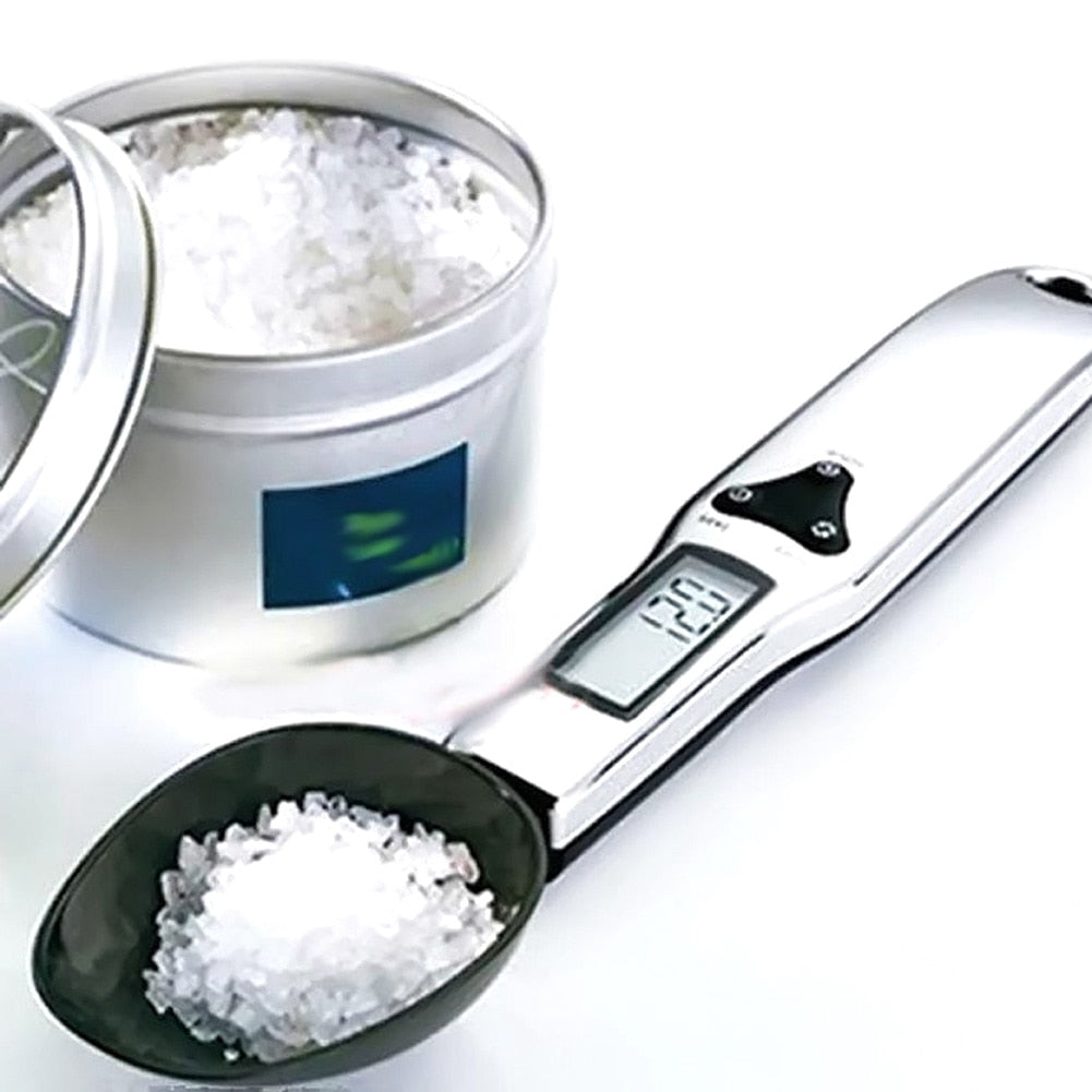 Portable LCD Digital Kitchen Spoon Scale