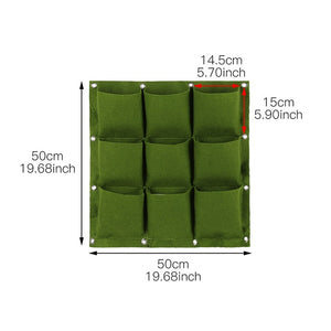 VERTICAL GARDEN POCKET PANELS