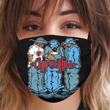 "Cypress Hill ""Blunted"" Reusable and Washable Anti-Germ and Pollution Mask Cover"
