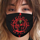 "Cypress Hill ""Skull & Compass"" Reusable and Washable Anti-Germ and Pollution Mask Cover"