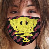 "Cypress Hill ""Smiley Elephant"" Reusable and Washable Anti-Germ and Pollution Mask Cover"