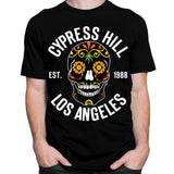"Control Industry T-Shirts Cypress Hill ""Day of the Dead"" Black T-Shirt"