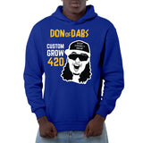 Don of Dabs Blue Pullover Hoodie