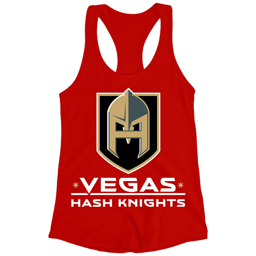 Hash Knight Red Racerback Tank