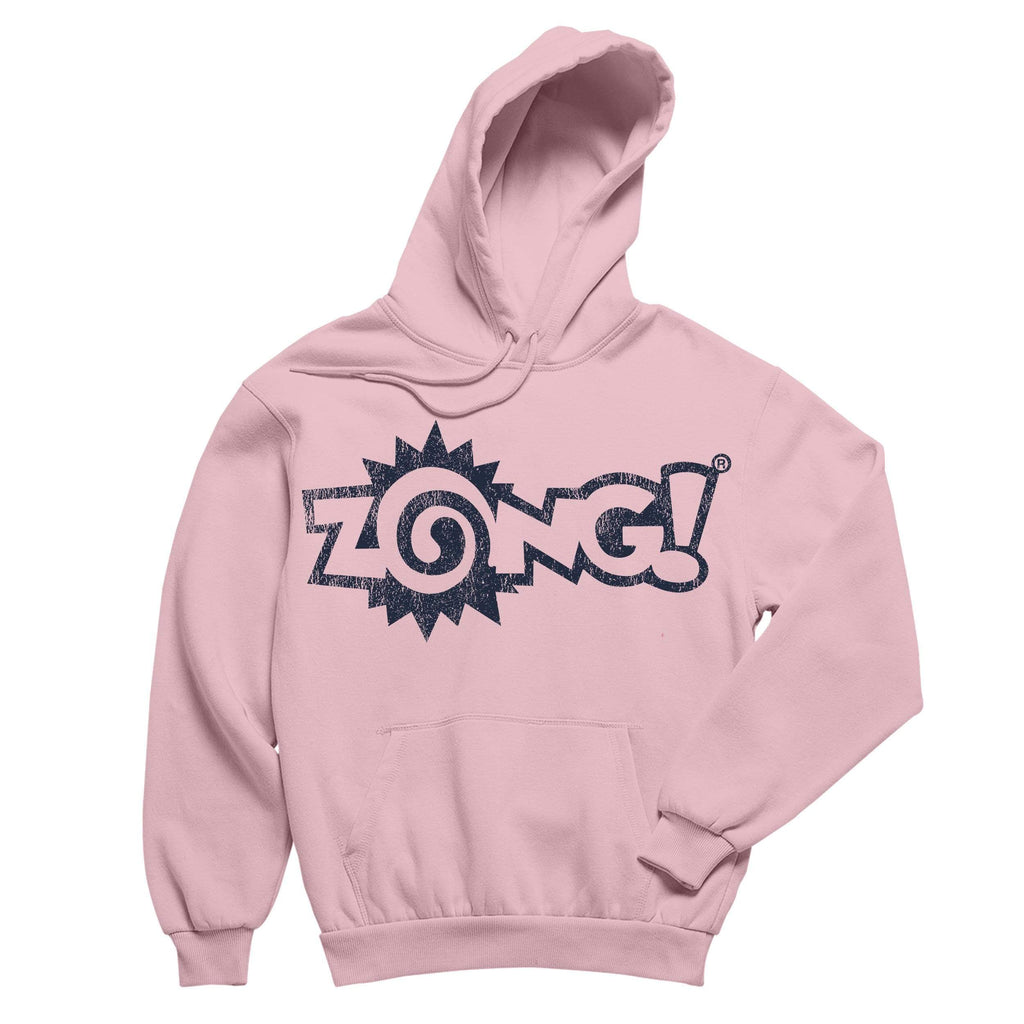 Zong Logo Pink Pullover Hoodie