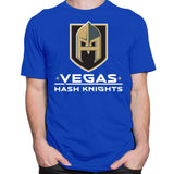 CustomCat T-Shirts Hash Knight Blue T-Shirt