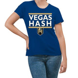 CustomCat T-Shirts Hash Knight Hashletes Blue T-Shirt