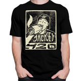 CustomCat T-Shirts Jackey 420 Black T-Shirt