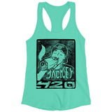 Jackey 420 Mint Racer Tank