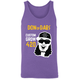 Custom Grow 420 Don of Dabs Purple Unisex Tank