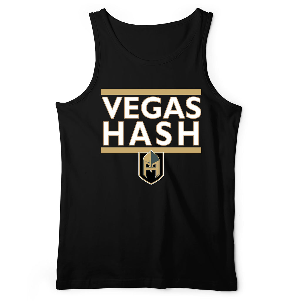 Vegas Hash Knight Hashletes Black Tank Top