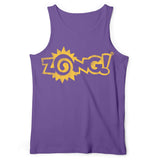 Zong Yellow Logo Purple Tank Top