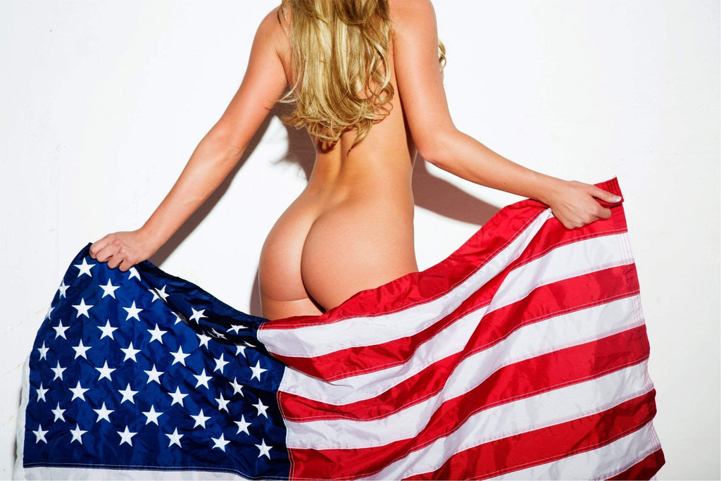American Babe by Daveed Benito Poster