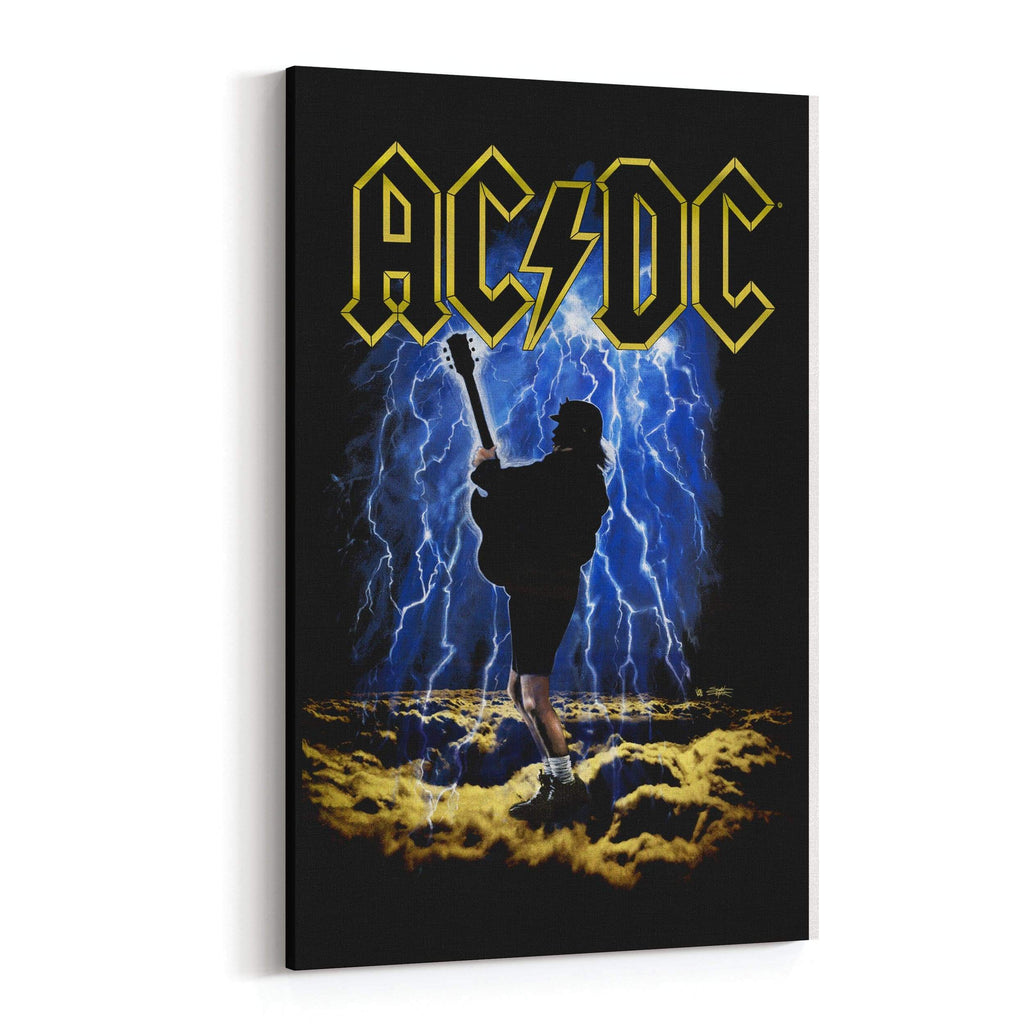 AC/DC Highway to Hell by Stephen Fishwick Canvas Art