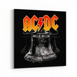 AC/DC Hells Bells Canvas Art