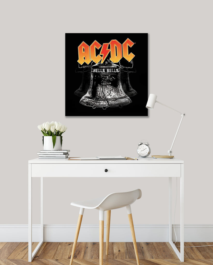 Get Down Art Canvas AC/DC Hells Bells Canvas Art