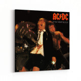 AC/DC If You Want Blood Canvas Art