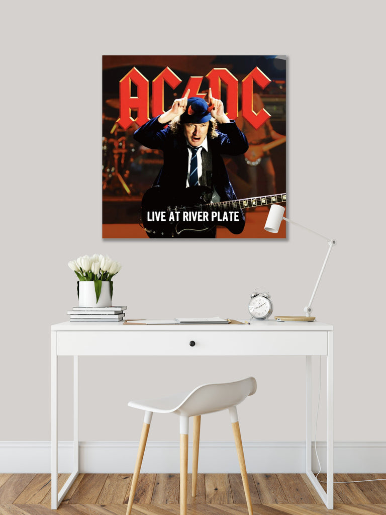 Get Down Art Canvas AC/DC Live at River Plate Canvas Art