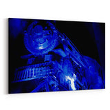 AC/DC Rock N Roll Train Canvas Art