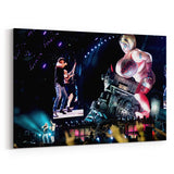 AC/DC We Are On the Rock N Roll Train Canvas Art