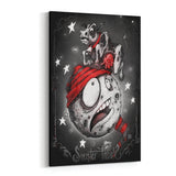 Cow Jumped over the Moon by Big Chris Canvas Art