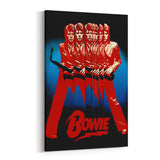 David Bowie Multiples Canvas Art