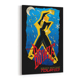 David Bowie Tour 63 Canvas Art