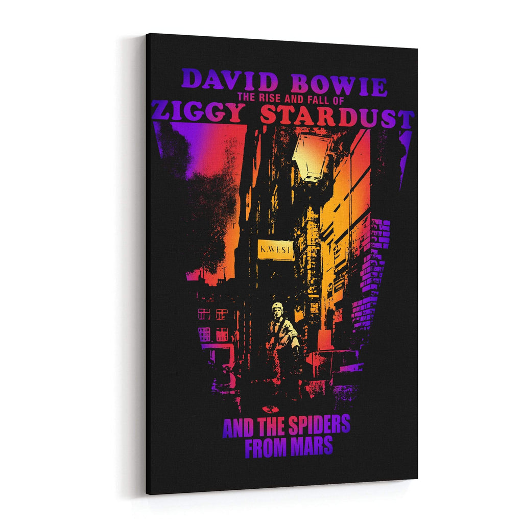 David Bowie Ziggy Stardust Canvas Art