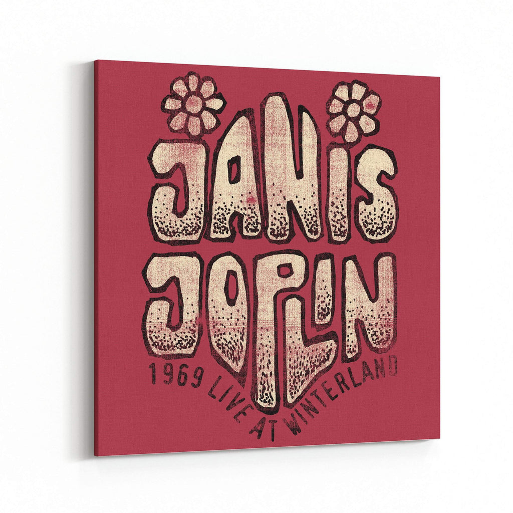 Janis Joplin 1969 Live at Winterland Canvas Art