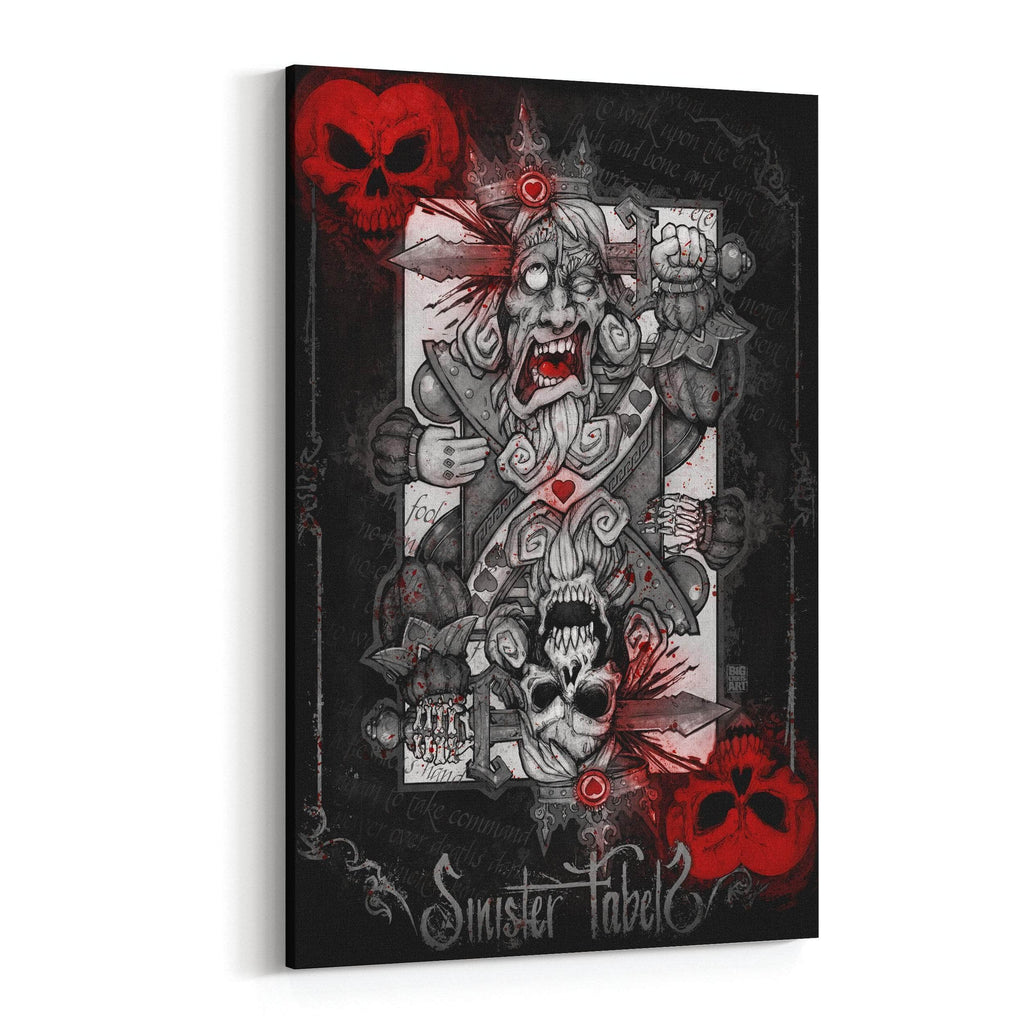 King of Hearts by Big Chris Canvas Art