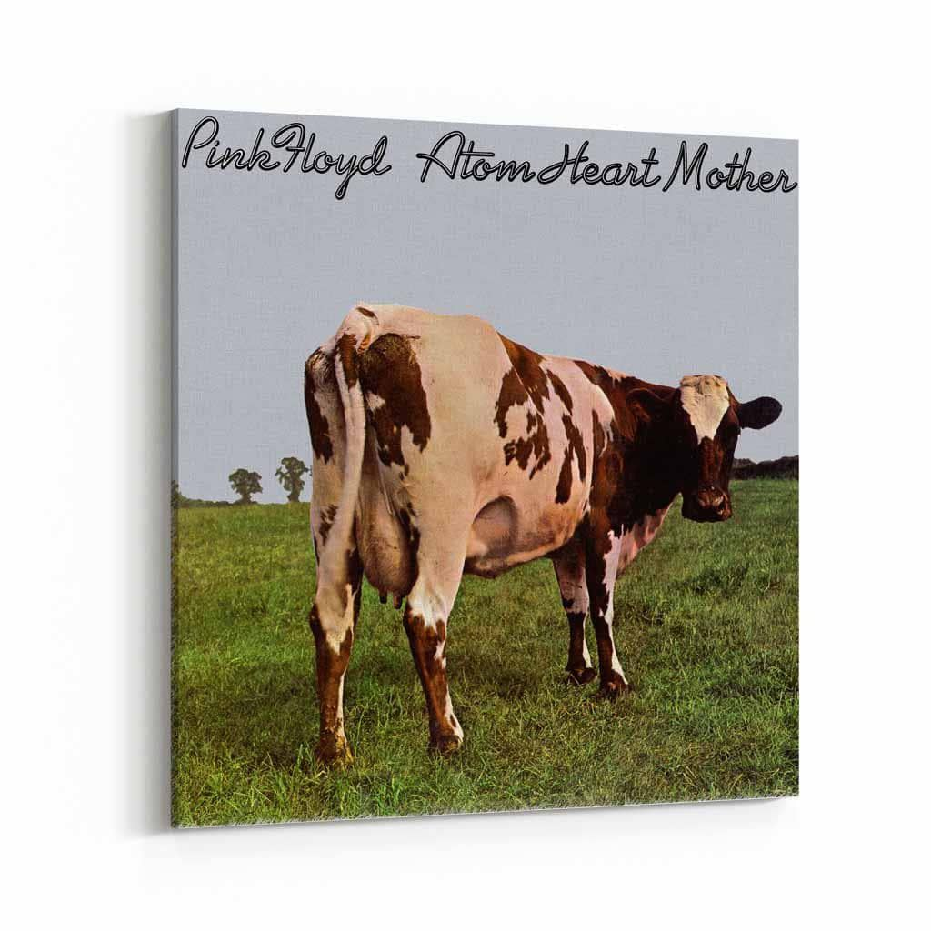 Pink Floyd Atom Heart Mother Cover Canvas Art