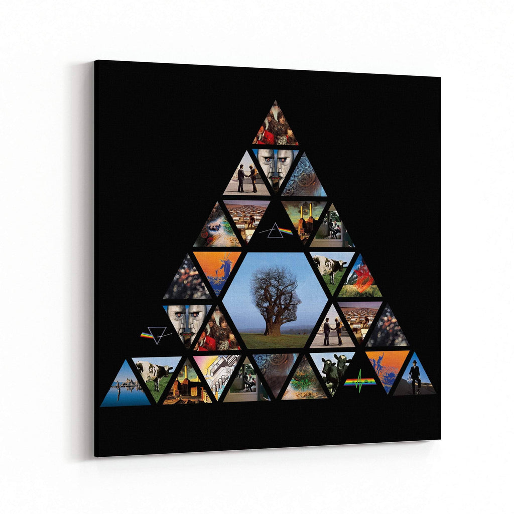 Pink Floyd Pyramid Canvas Art