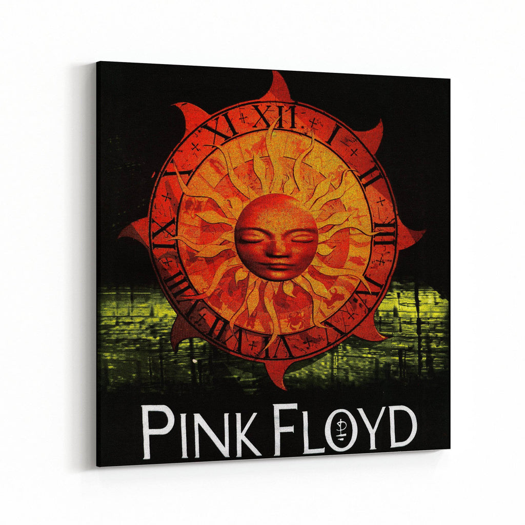 Pink Floyd Watch Canvas Art