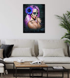 Get Down Art Canvas Violet  Canvas  By Daveed Benito Canvas Art