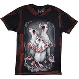 Get Down Art T-Shirt 3 Blind Mice T-Shirt by Big Chris